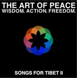 'The Art Of Peace: Songs For Tibet II' CD cover