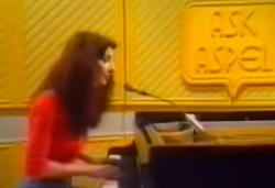 Kate Bush performing 'Kashka From Baghdad' on Ask Aspel