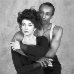Kate Bush with Stewart Avon-Arnold