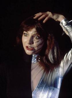 Kate Bush performing 'Babooshka' during the Dr. Hook television special