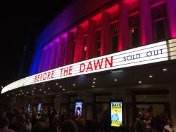 The outside of the Eventim Apollo in London, September 2014