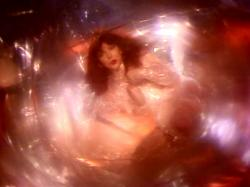 Still from the music video of 'Breathing'