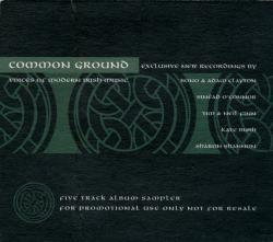 'Common Ground' promotional cd-single cover