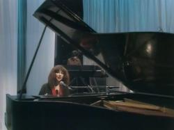 Kate Bush performing 'December Will Be Magic Again' during the Christmas Special in 1979