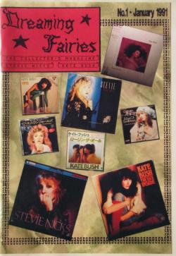 First issue of Dreaming Fairies, January 1991