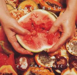 'Eat The Music' CD-single sleeve