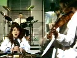 Kate Bush performing 'Experiment IV' on Wogan, 31 October 1986