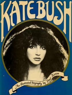 'Kate Bush: An Illustrated Biography' book cover