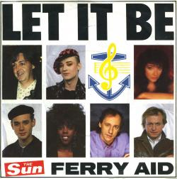 "'Let It Be' - UK 7"" single sleeve"
