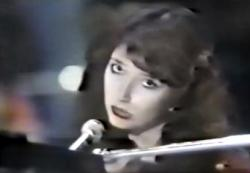 Kate Bush performing 'The Long And Winding Road' in Japan