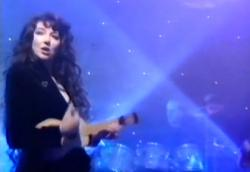 Kate Bush performing 'Rocket Man' on Wogan, 16 December 1991