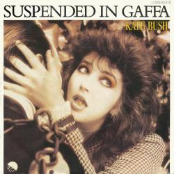 "Suspended in Gaffa - German 7"" single sleeve"