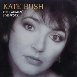 'This Woman's Live Work' - CD sleeve