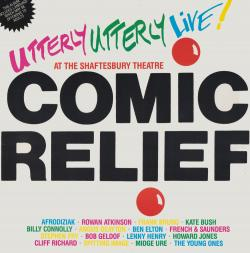 The album 'Utterly Utterly Live at the Shaftesbury Theatre: Comic Relief'