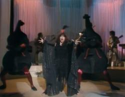 Kate Bush performing 'Violin' during the Christmas Special in 1979