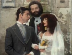 Kate Bush performing 'The Wedding List' during the Christmas Special in 1979