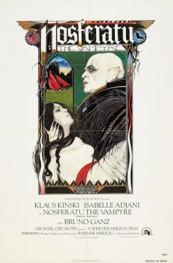 Film poster for 'Nosferatu The Vampyre'