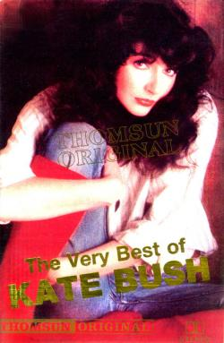 'The Very Best Of Kate Bush' - tape cover