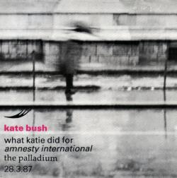"'What Katie Did For Amnesty International' - 7"" single sleeve"