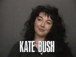 Kate Bush on X-Ray, 12 February 1990