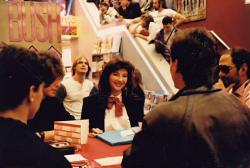 Kate Bush at Tower Records, 1985